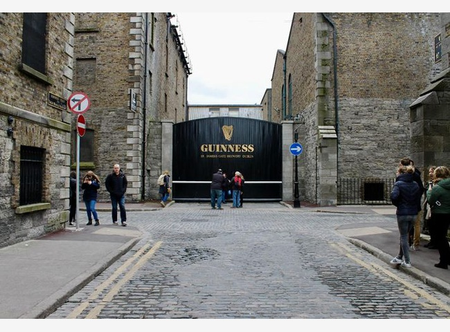 Экскурсия на завод Гиннес (Guinness Storehouse)