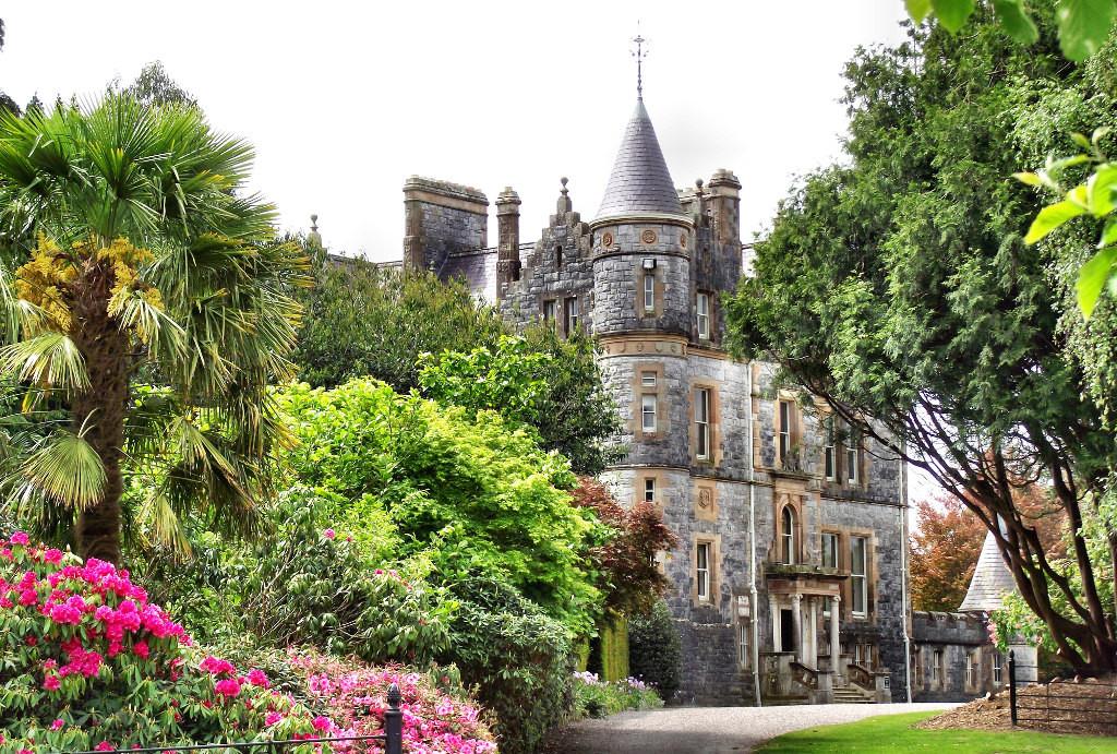 Замок Бларни  и камень Красноречия